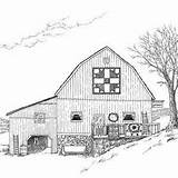 Barn Quilt Coloring Patterns Bing Drawing Appalachian Drawings Embroidery Barns Beth Goose Tracks Adult Dix Quilting sketch template