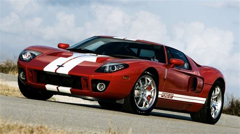 Ford Gt 700 Supercar, Red Color Wallpaper