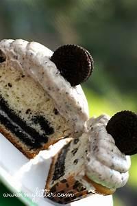Shortcut OREO Cookie Cupcake Recipe & Frosting Recipe ...