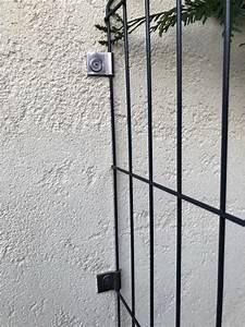 Panneau De Grillage Rigide : fixation murale pour panneau en grillage soud de cl ture ~ Dailycaller-alerts.com Idées de Décoration