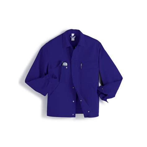 veste de travail bleu roi tendance