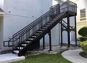 Steel Stairways  Stairs  U0026 Railings