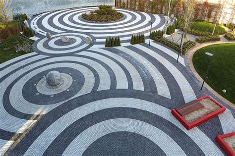 pavement landscape design landscape design idea get creative with pavement contemporist
