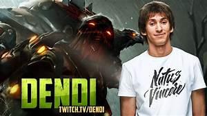 Dota 2 Stream NaVi Dendi Pudge Gameplay Commentary