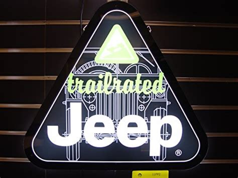 jeep trail sign jeep trail rated led sign business industrial signage