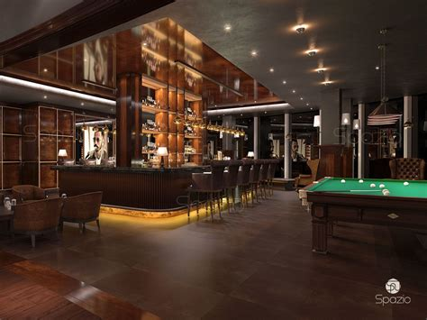 Bar Interior Design by Cafe Restaurant Interior Design In Dubai Spazio
