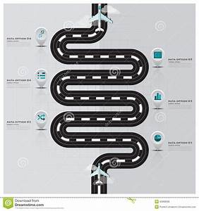 Travel And Journey Runway Business Infographic Stock