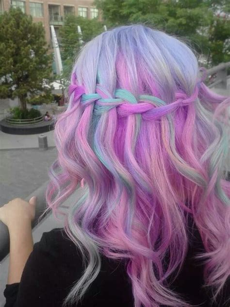 Purple And Pink Hair On Tumblr