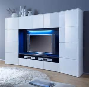 Tv Wand Weiß : wohnwand media wand weiss hochglanz neu 12 00322 ebay ~ Sanjose-hotels-ca.com Haus und Dekorationen