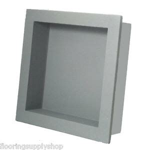 Preformed Shower Niche - preformed square shower niche shelf 14x14 ready to tile