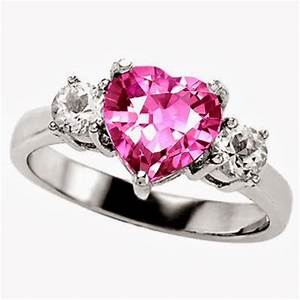 Engagement ring pink sapphire engagement rings 64 for Wedding rings with pink