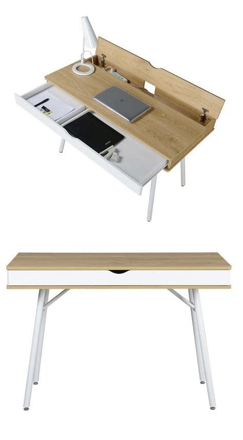 rangement tiroir bureau table bureau moderne et peu encombrante 45 modèles