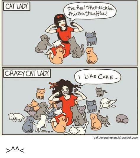 Tickle Memes - cat lady crazy cat lady gree feel that tickle like cake cat versushumanblogspotcom gt