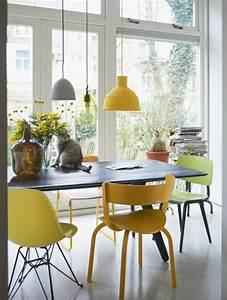 beaucoup d39idees comment accorder les couleurs d39interieur With idee deco cuisine avec chaises salle À manger couleur