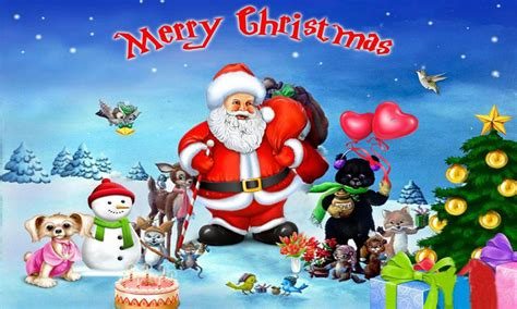 merry christmas  santa clause   merry friends