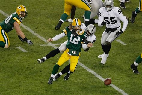 raiders  packers complete game day coverage silver