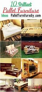 10 brilliant pallet furniture ideas pallet furniture diy