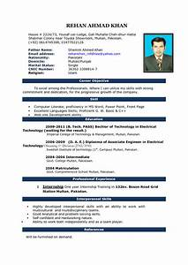 Resume Format Free Download In Ms Word 2007 Image Result For Cv Format In Ms Word 2007 Free Download