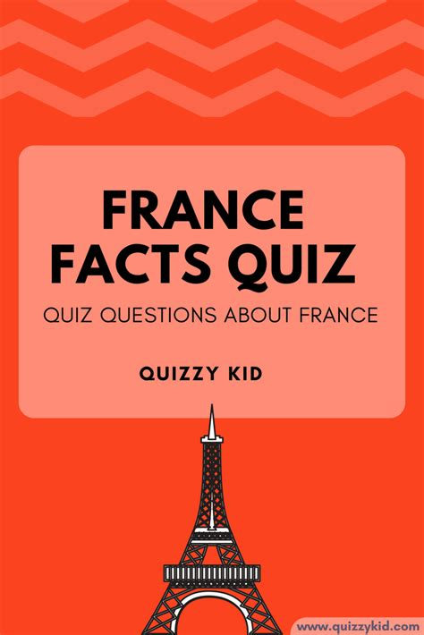 facts  france quiz quizzy kid