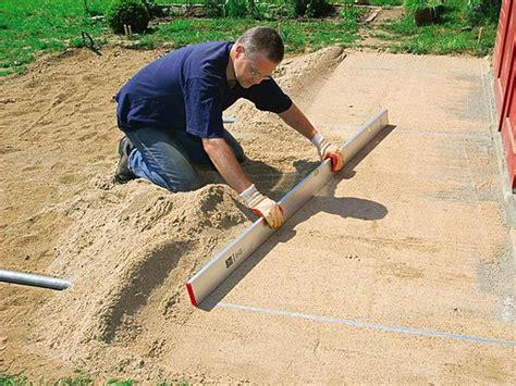 kies zum verdichten wie sie terrassenplatten aus betonstein verlegen bauhaus