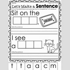 Word Family Freebie Teach Cvc Words With This At Word Family Package Perfect For Your Phonics
