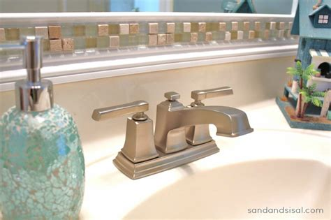 moen boardwalk faucet brushed nickel a s guide to installing a faucet sand and sisal