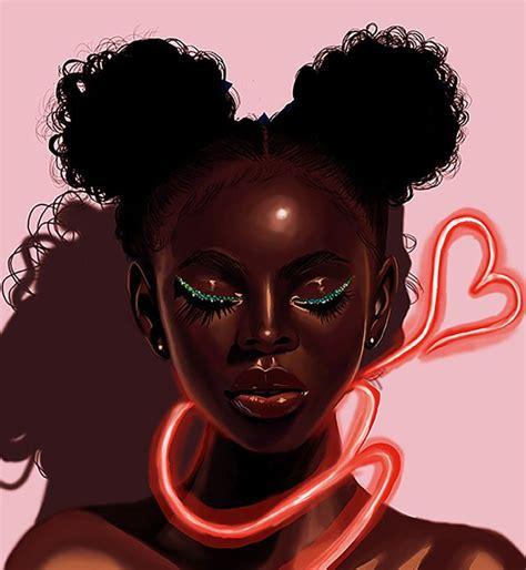 "The powerpuff girls buttercup black cosplay wig. zeroing: ""Melanin X Neon by 4everestherr "" | Black girl art, Black love art, Black art"