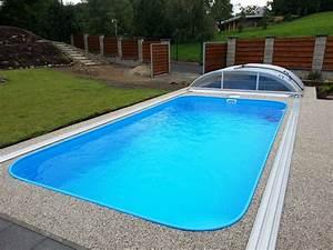 Zapuštěné bazény ceník