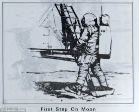 Image Gallery moon landing drawing