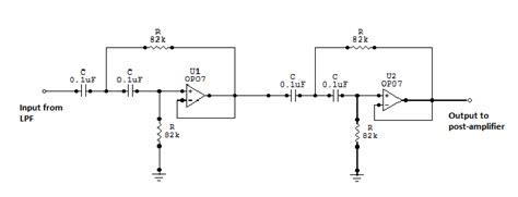 Order High Pass Filter Circuit Download Scientific
