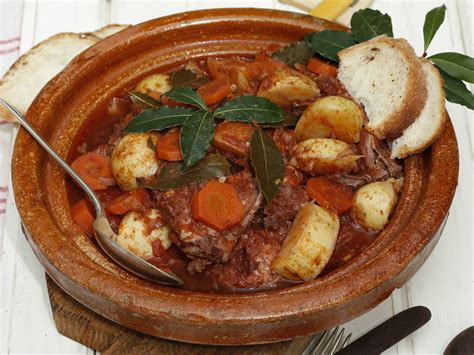 national cuisine of recipe the national dish of malta stuffat tal fenek