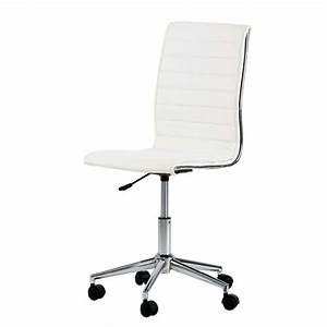 Schreibtischstuhl Ohne Armlehne : cadeiras brancas para escrit rio decorando casas ~ Frokenaadalensverden.com Haus und Dekorationen