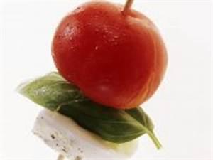 Tomate Mozzarella Spieße : tomaten mozzarella spie e rezept eat smarter ~ Lizthompson.info Haus und Dekorationen