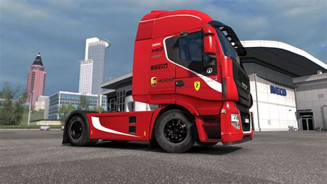 ferrari truck iveco hi way scuderia ferrari formula one team edition 1