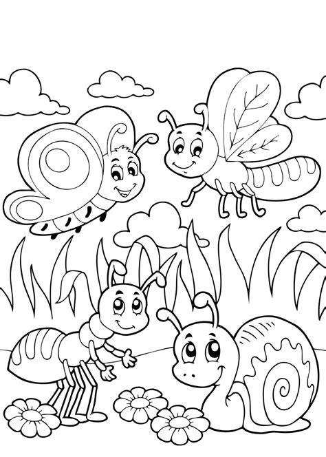 Kleurplaat Mier by Kleurplaten Vlinders 26 Gratis Kleurplaten Voor Kinderen