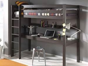 Lit 1 Place Mezzanine : 80 lits mezzanine pour gagner de la place elle d coration ~ Melissatoandfro.com Idées de Décoration