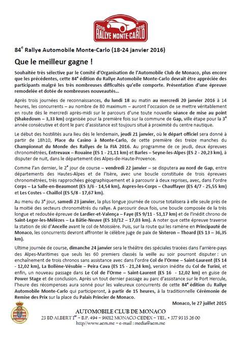 rallye monte carlo 2016 18 24 janvier wrc wrc forum rallye
