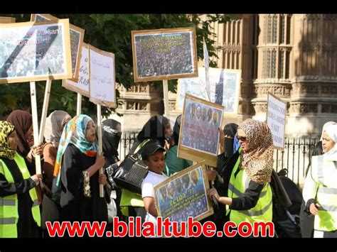 Ethiopian Muslim In London Held A Demonstration At
