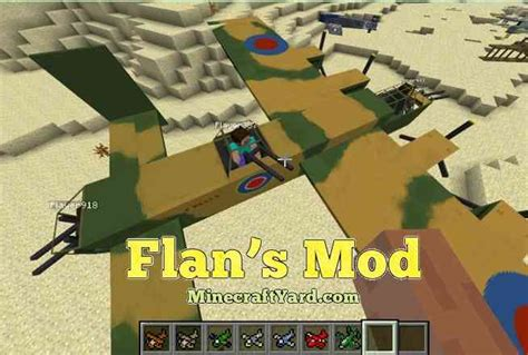 Flan's Mod For Minecraft 1.14/1.13.2/1.12.2/1.11.2/1.10.2
