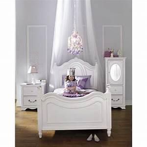 Bedroom Chic Luxury Kids Girl Bedroom Design Using White