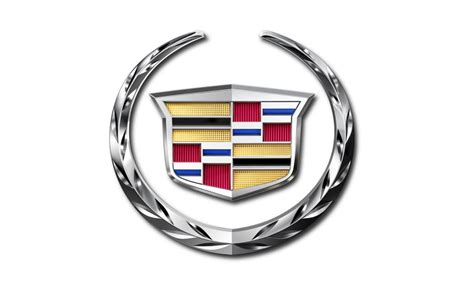 Cadillac Logo White Hd Wallpaper Background And Theme