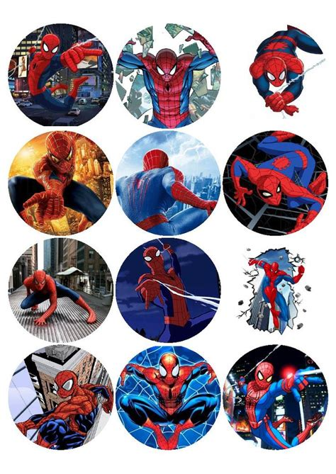 spiderman edible printing pinterest spiderman