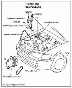 5sfe Engine Side Motor Mount Removal Diagram