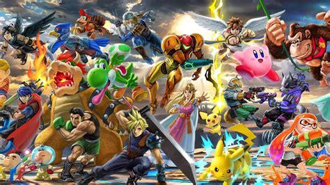 Smash Bros Anime Wallpaper - nintendo smash bros ultimate wallpaper for phone and