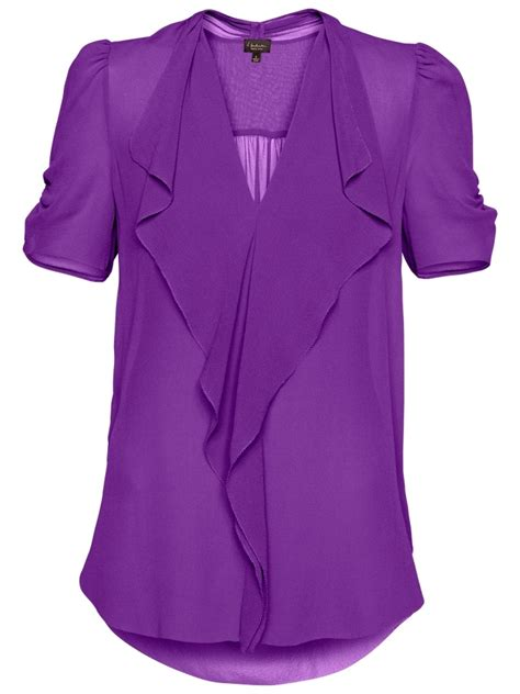 lavender blouses and tops sheer silk blouse purple fashion