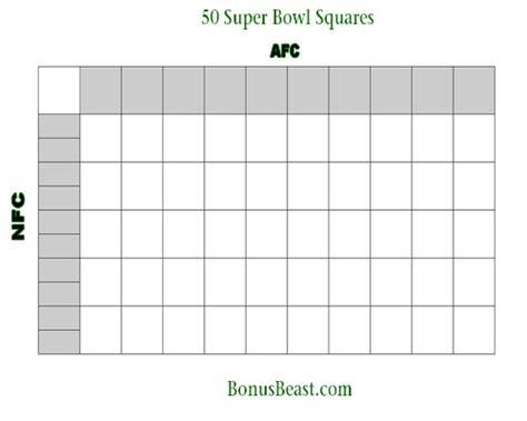 bowl box template printable sports squares trials ireland