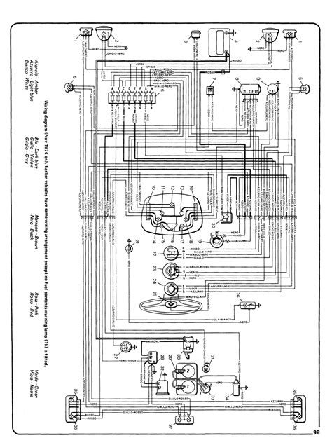 Fiat Punto Electrical Wiring Diagram by Fiat 126 Bis Wiring Diagram Easy To Read Wiring Diagrams