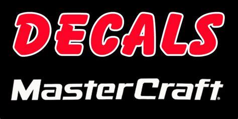 Mastercraft Boat Graphics by Mastercraft Decals Mastercraft Boat Wraps Mastercraft Logo