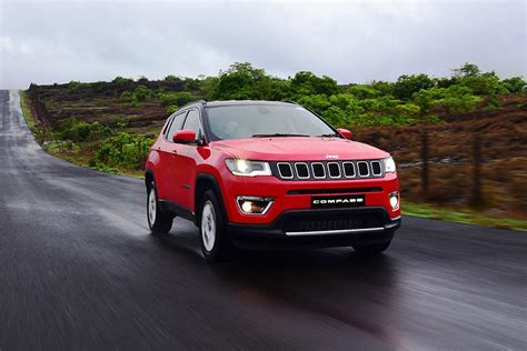 jeep compass launched  india  inr  lakh autobics