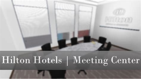 hilton hotels mt center roblox